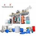 Large Capacity Plastic Water Storage Bucket Blow Machine