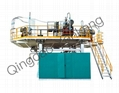1000L Three Layers Storage Tank Plastic Blowing Machine