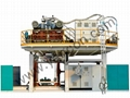 500L -3000L Three Layers Extrusion Blow Molding Machine