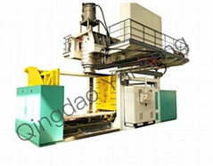 Portable Mobile Outdoor Toilet Making Machinery Blow Molding Machine