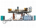 200L Double Ring Drum Blow Molding Machine