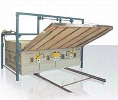 Sliding Individual Glass Bending Oven