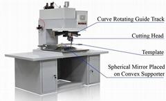 Spherical Convex Glass & Mirror Cutting Machines (Auto Car Mirror Cutting Machin