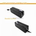 3 Tracks POS Use Swipe USB Magnetic Card Reader (HID-K