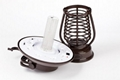 2014 Stainless Steel Solar LED Decorative Outdoor Mosquito Killer Light 3