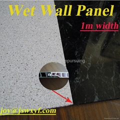 1m wide PVC panel for interior wall decoration