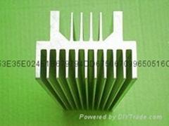 6063鋁散熱器陽極氧化