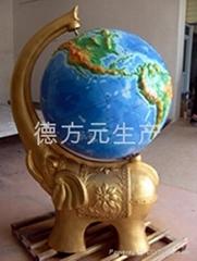 供應大型立體地球儀