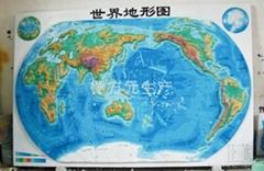 供應立體地形圖