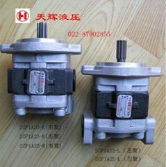 小型挖掘机用天津岛津齿轮泵