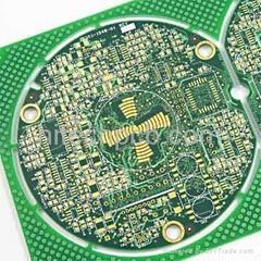 China pcb supplier---Hitechpcb  8L Multilayer PCB