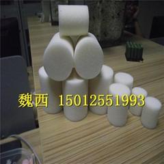 白色海绵柱 高密度海绵棒 海绵球