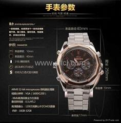 超薄型摄像手表
