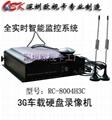 3G无线车载录像机(RC-80