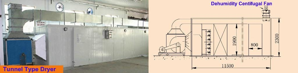 drying machine for vegetable and fruit  3