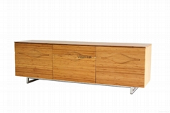 Groovy Solid Bamboo TV Cabinet/ TV Stand(9314)