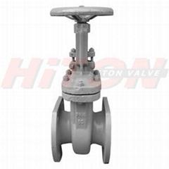 Z41H Russian Gost flange gate valve