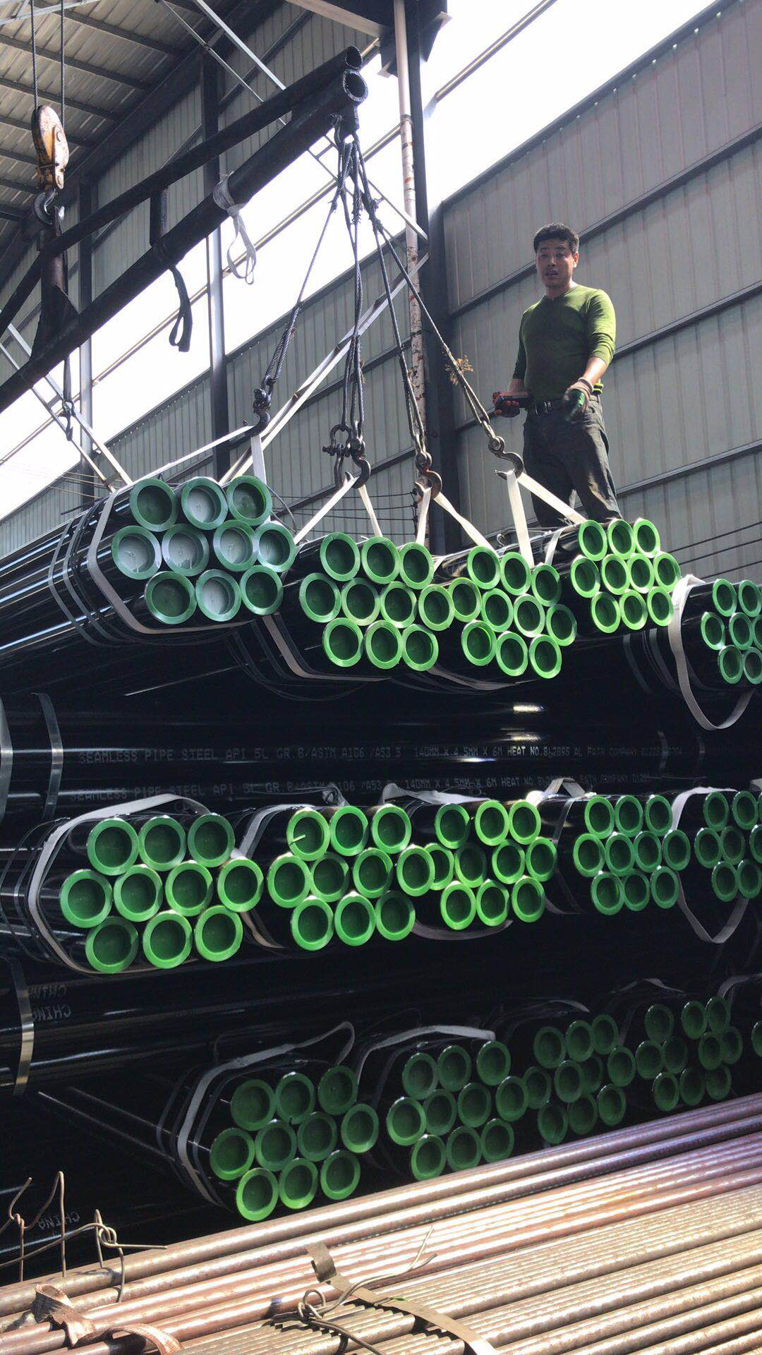 ASTM A106 SEAMLESS STEEL PIPE 2
