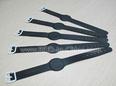 waterproof rubber RFID wristband