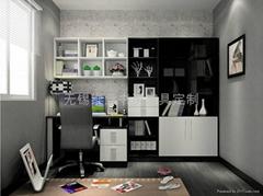 簡約書房傢具