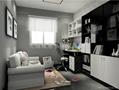 简约书房家具 2