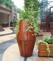 木花盆花箱