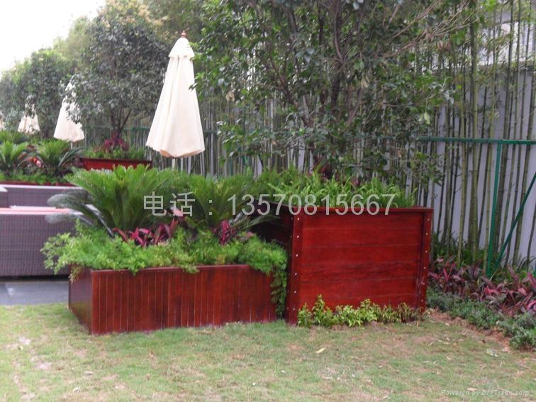 木花盆花箱 3