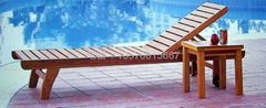 木製沙灘椅