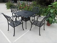 花园铸铝桌椅