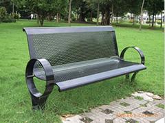 戶外鐵藝休閑椅