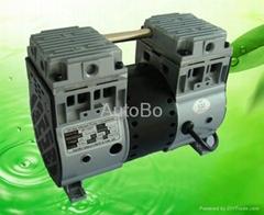 微型静音活塞式无油真空泵
