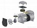 静音活塞式无油压缩机 AP-550C 3