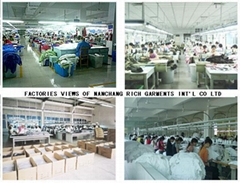 NANCHANG  RICH  GARMENTS   INT'L CO LTD