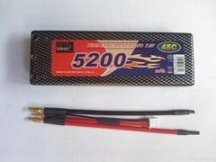 锂聚合物电池EP5200-50C-7.4V