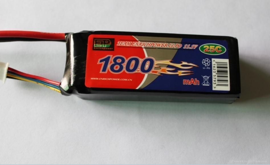 Lithium Polymer battery 2200-11.1V-25C 2