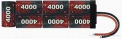 NIMH battery、R/C cars and Hobbies、SC4000MAH-8.4V