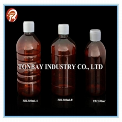 300-500ml pet plastic bottle for liquid bottle