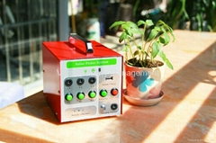 Small Solar System with 5W LED Light and Mobile Charging