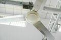 "2 Years Warranty Solar 12V DC Ceiling Fan 56"" 380RPM 36W Powered By Solar System 5"