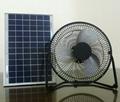 Low Cost 8'' 6W Solar DC Fan 12V Best for Solar System Using 3
