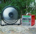 "Cheap Price 9"" Solar DC Fan for Solar System 3"
