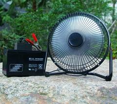 "Cheap Price 9"" Solar DC Fan for Solar System"