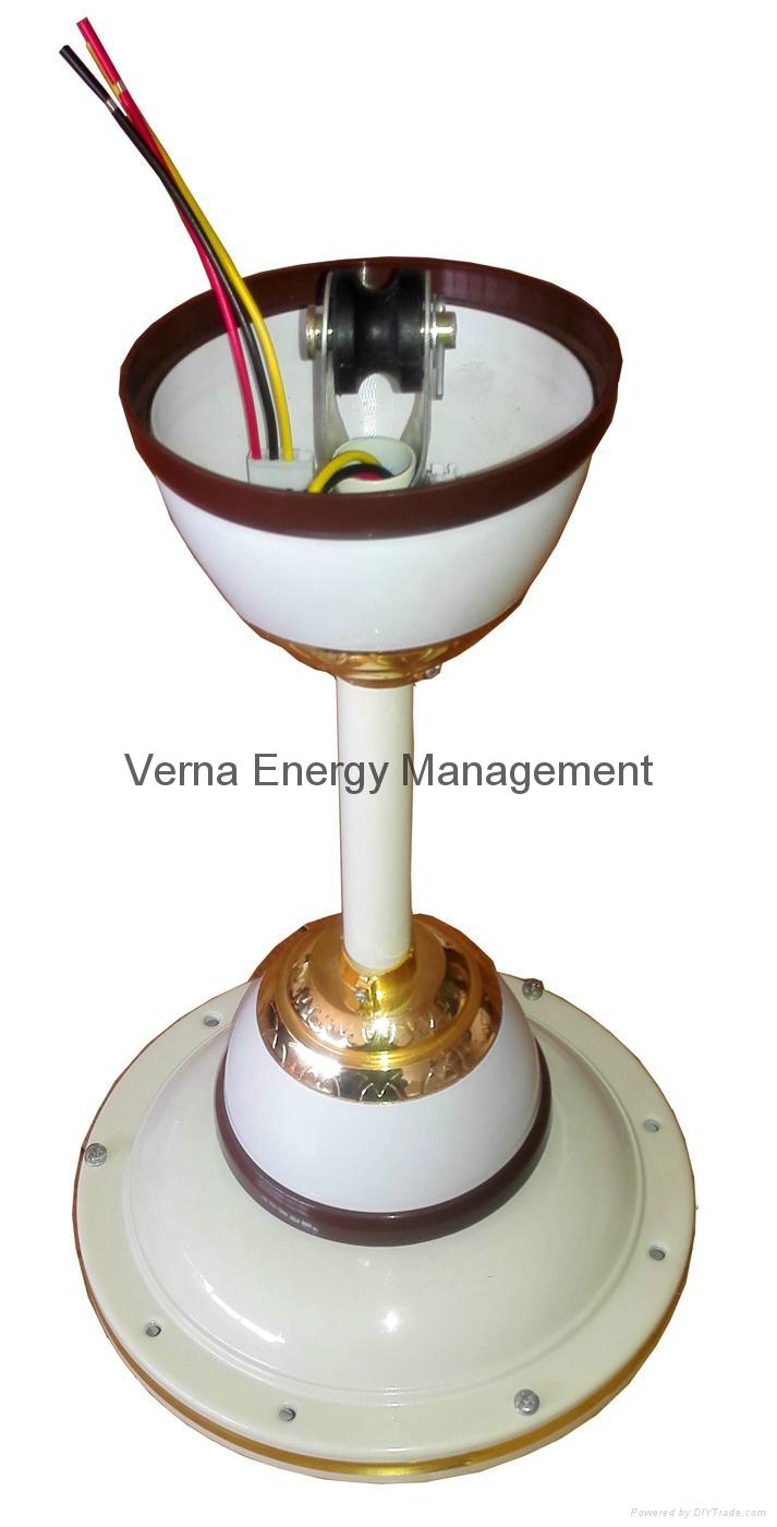 48'' DC12V Solar BLDC Ceiling Fan 25W 330RPM 5
