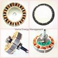 48'' DC12V Solar BLDC Ceiling Fan 25W 330RPM 4