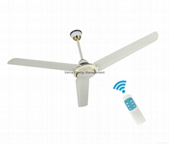 56'' 36W AC230V Input Energy Saving Ceiling Fan with 10 Years Life BLDC motor