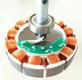 48'' AC220V Energy Saving Ceiling Fan 25W 330RPM BLDC Motor Ceiling Fan 4