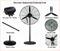 "26"" 30"" AC230V Input Energy Saving Industrial Pedestal Fan  with BLDC Motor 75W 2"