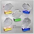 水晶獎座 W-3080