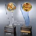 水晶琉璃奖座-A1038