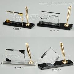 Crysatl Pen Holder-W3051